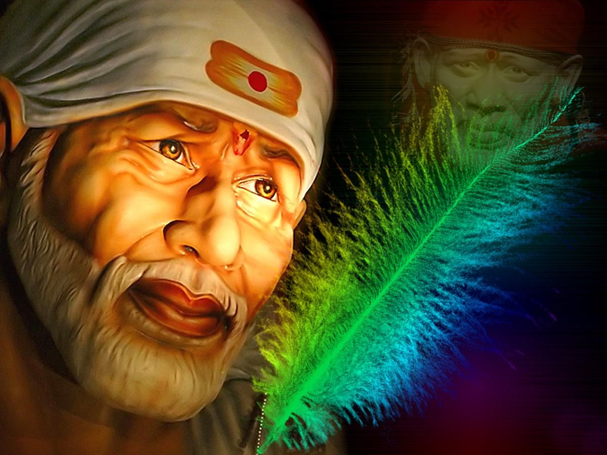 Shiridi Sai Baba HD wallpaper for download