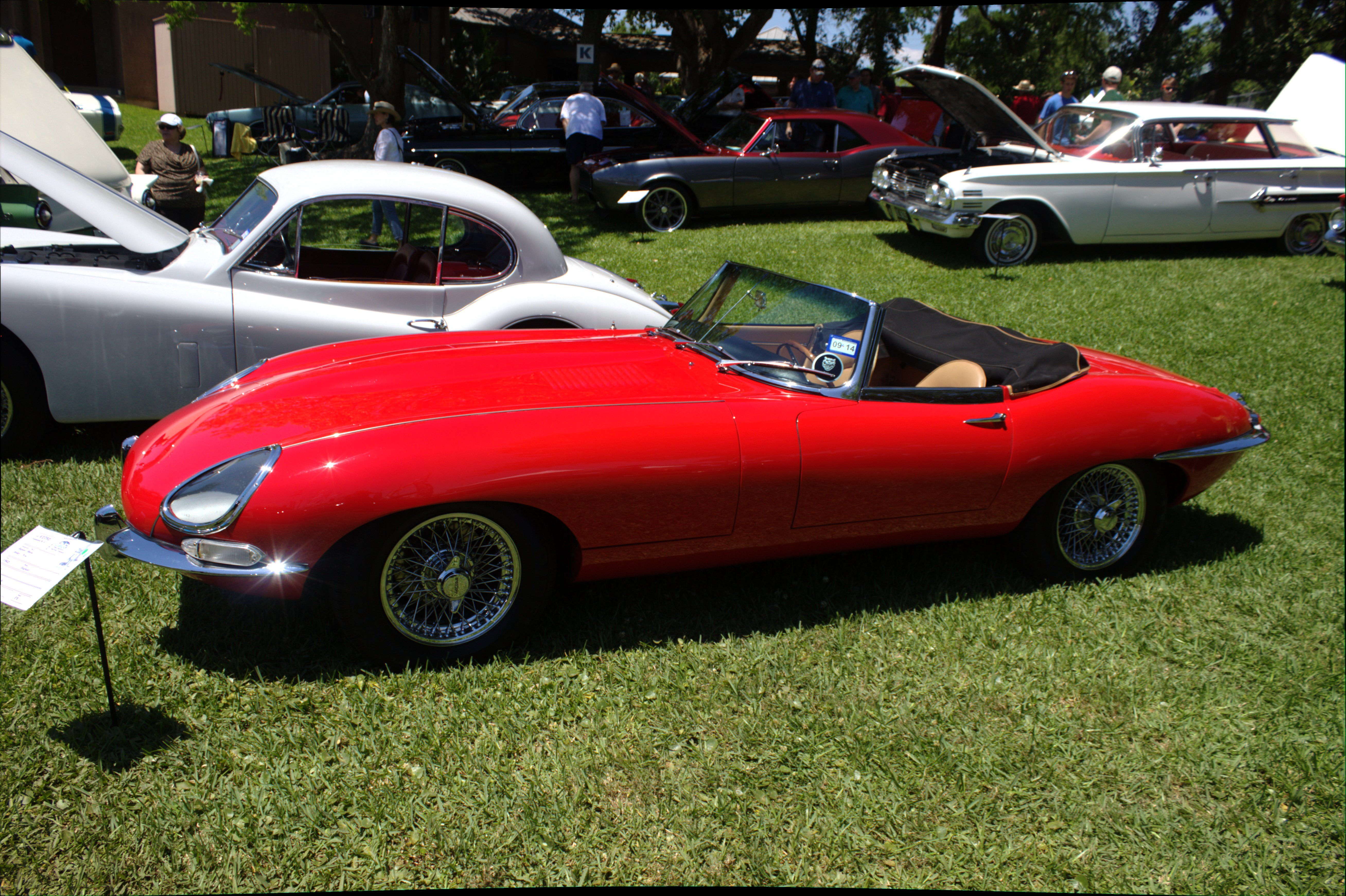 1962 jaguar xle roadster series 1 owned by peter harth of