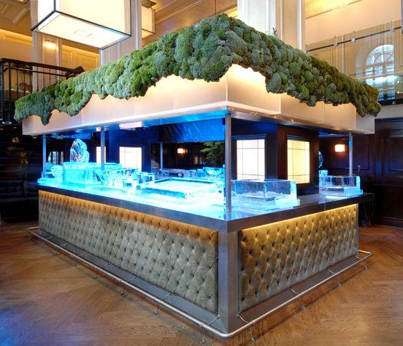 Outdoor Wedding Bar Ideas: Outdoor Cocktail Party Bar Design