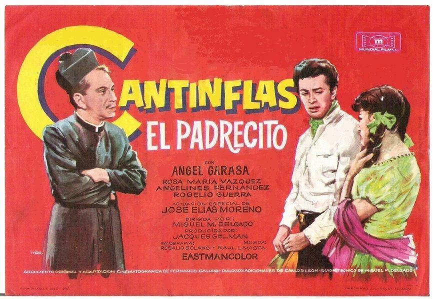 El Padrecito 1964 Tt0058438 Esp Pgs Cantinflas Carteles De Cine Cine