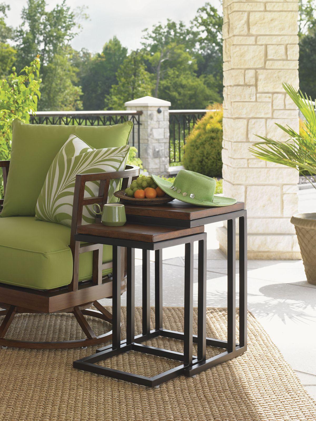 Ocean Club Pacifica Nesting Tables | Lexington Home Brands