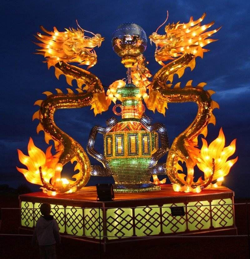 Funny & Crazy Chinese lantern festival, Lantern festival
