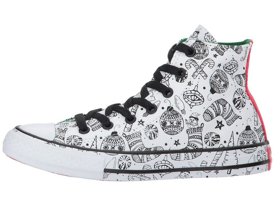 418874853da4 Converse Kids Chuck Taylor All Star Holiday Coloring Book - Hi (Little Kid  Big