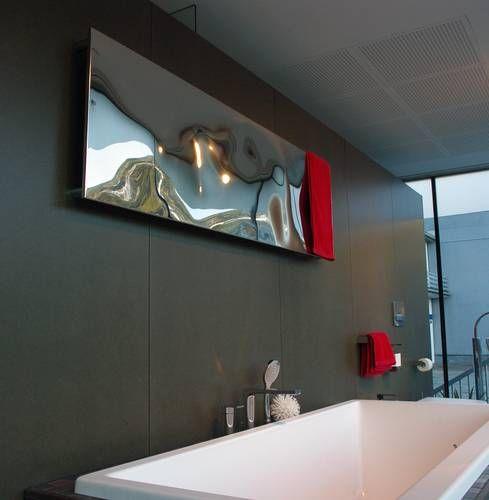 Cordivari Blow Design Heizkörper horizontal aus Edelstahl - heizkörper für küche