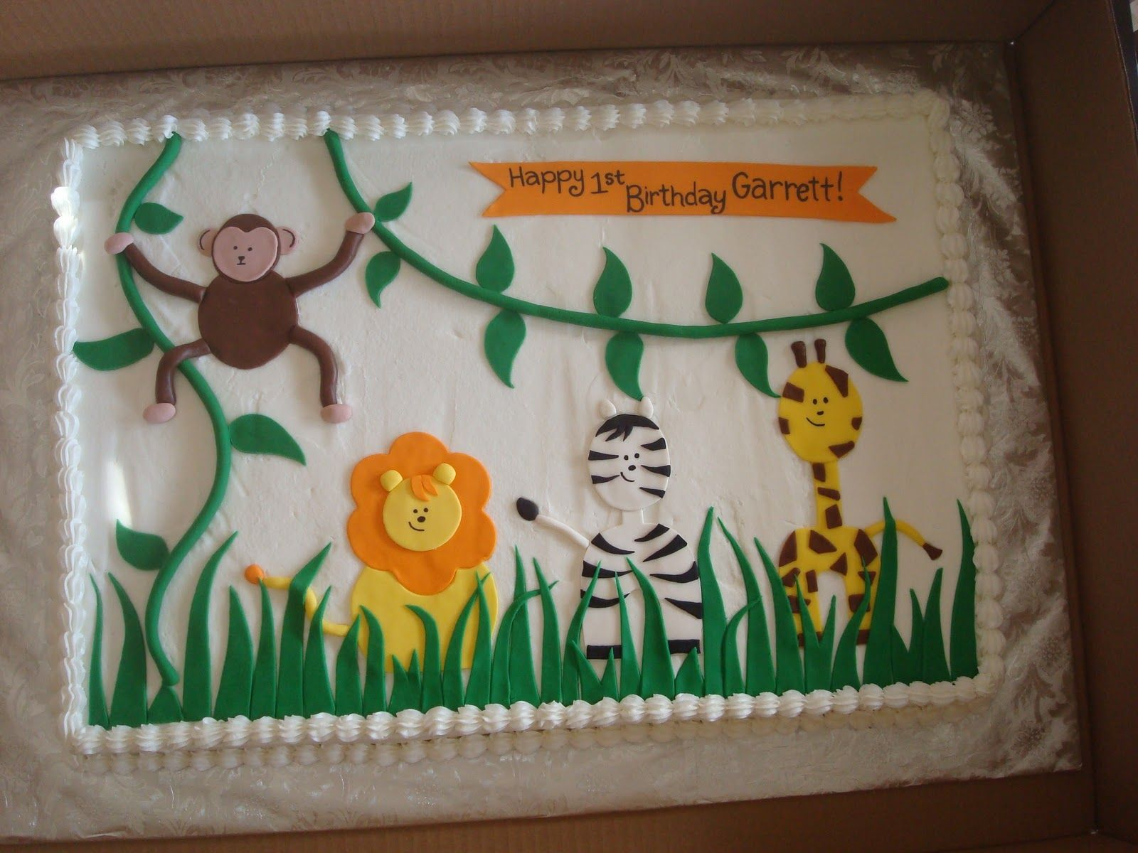 full sheet baby shower cakes for girl