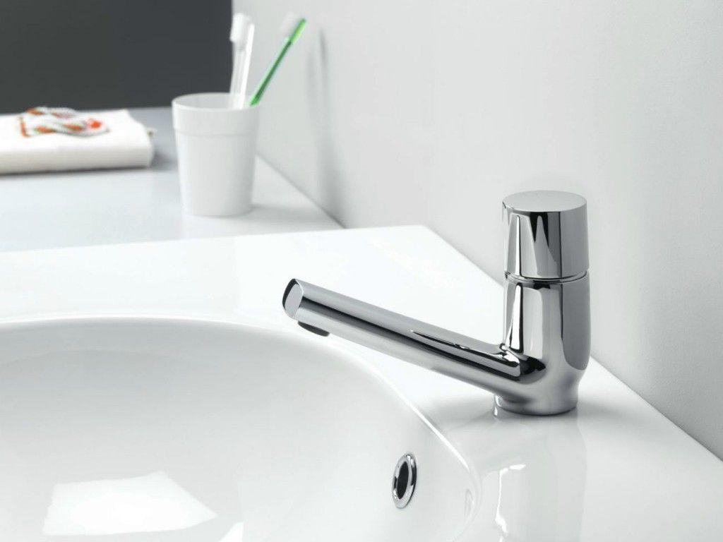 grifo monomando lavabo rubinetto de bossini cristina con