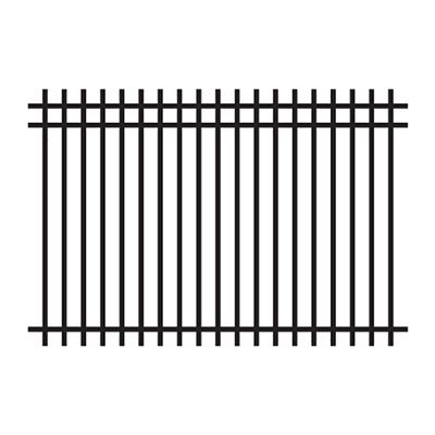 Master Halco Fence Panel 010532 4 Ft Squ Top 3r Ornamental Panel