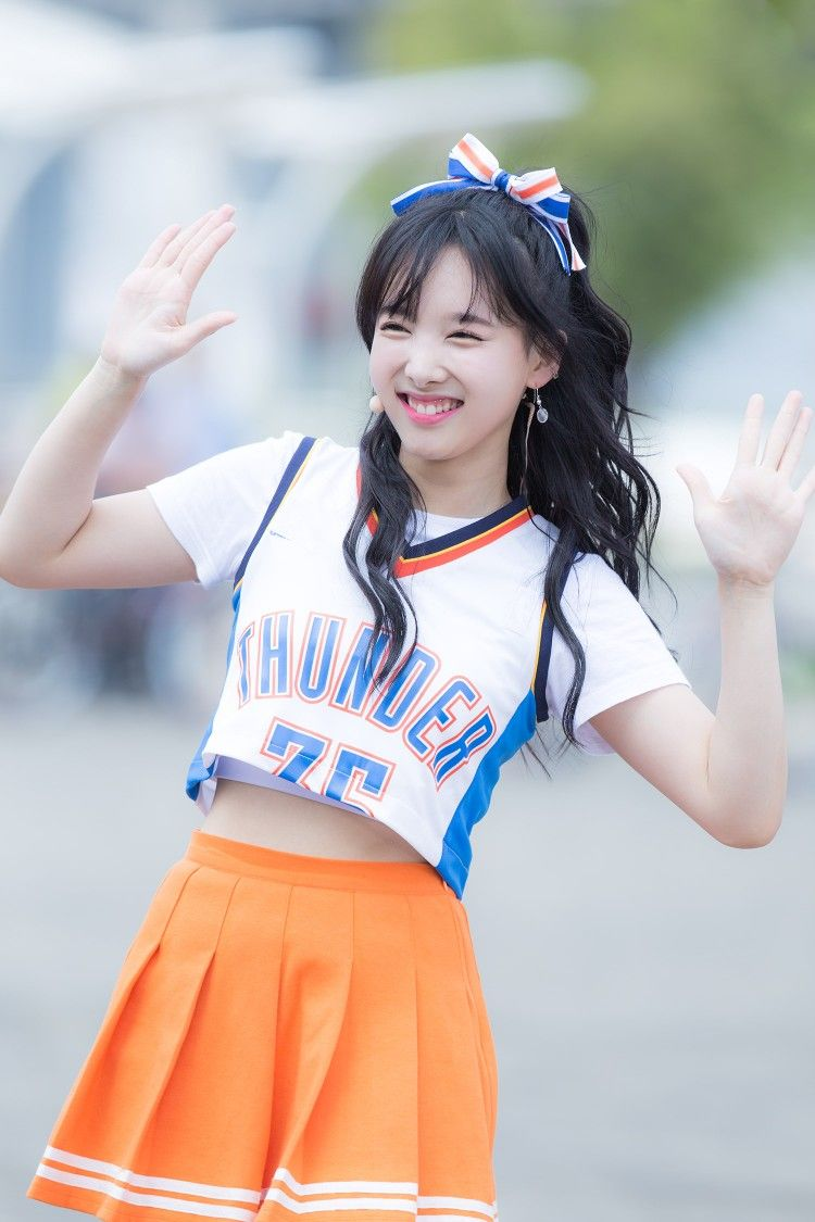 Image result for nayeon cheerleader outfit