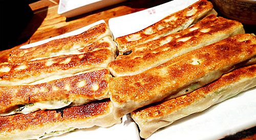 Fried Wheaten Pancake With Fillings Ta Lian Huo Shao Food Tasty Ingredients Real Chinese Food