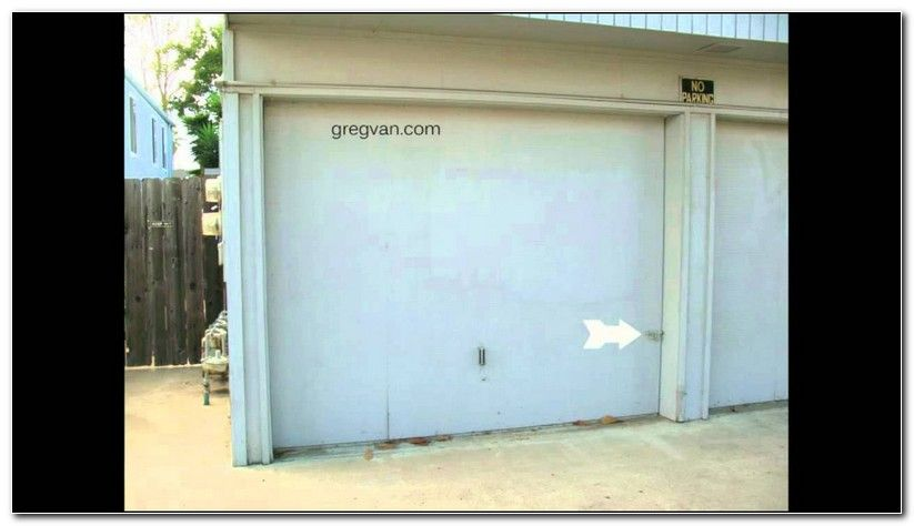How To Lock A Garage Door From The Outside Check more at