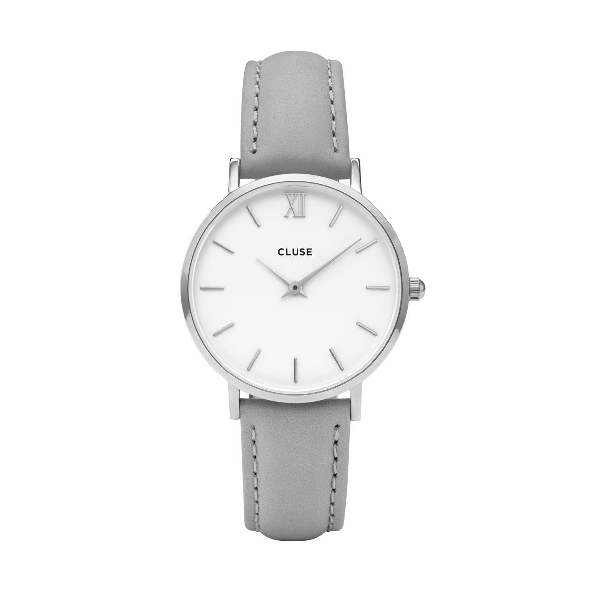 2218f8d216 Dámske hodinky CLUSE Minuit Silver Grey. Materiál  oceľ