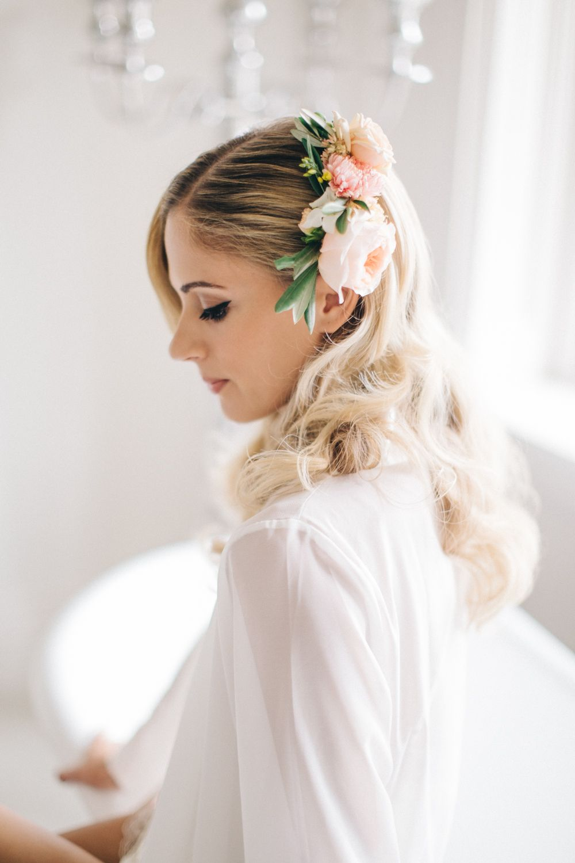 English Garden Wedding with Mediterranean Accents | Wedding peach ...