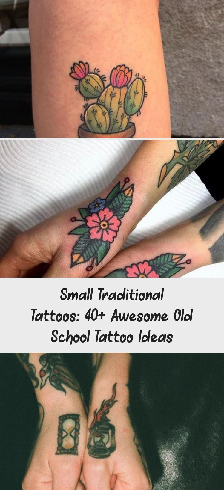 Photo of Small traditional tattoos: 40+ Awesome Old School Tattoo Ideas  #awesome #school…