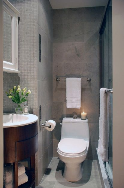 Bathroomroundedvanity 413×626 Pixels  Cool Home  Pinterest Beauteous Small Bathroom Design Tips Design Decoration