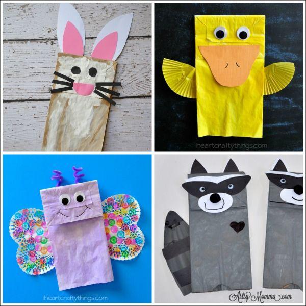 20 Paper Bag Animal Crafts For Kids School Animal