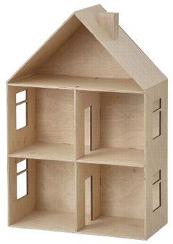 Maison de poup e en bois chez bianca and family - Maison de poupee en bois a construire ...
