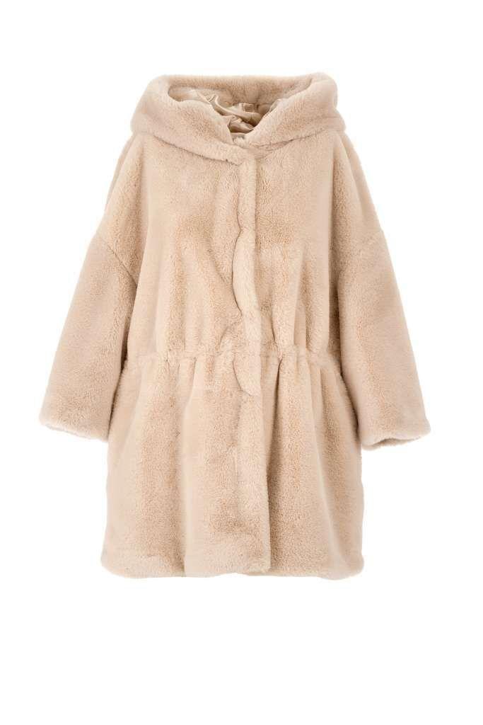Collezione Motivi Autunno Inverno 2017-2018 - Cappotto di pelliccia  ecologica Motivi df306eab048f