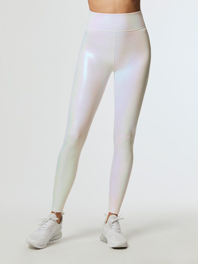 1b167904102 Luminous legging in 2019   Running tights   White leggings outfit ...