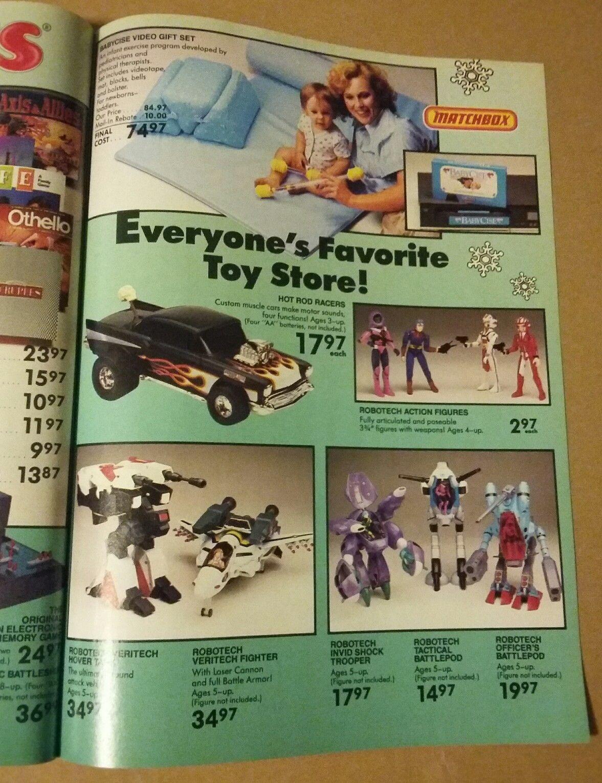 Toys R Us Christmas Book 2020 1986 Toys R Us Christmas Dream Book Catalog Toys Mattel | eBay in
