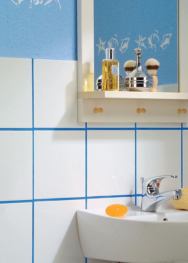 Fliesenfugen Erneuern Selbst De Badezimmer Fliesen Fliesen Bad Sanitar