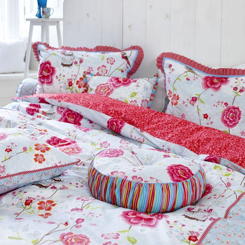 Pip Bettwäsche Rot Pip Bettwasche Pip Bettwasche Chinese Rose Rosa