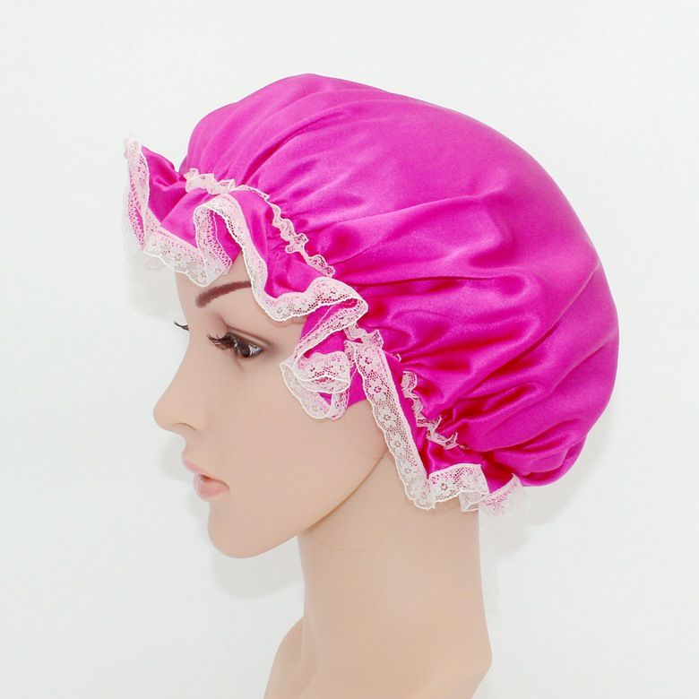 private label satin head cap silk hair Silk hair