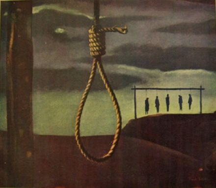 the hanging orwell