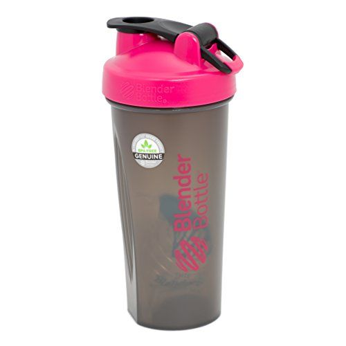 BlenderBottle Full Color Bottles - New Black Translucent Color with Shaker Ball - Pink - 28oz Blender Bottle http://www.amazon.com/dp/B00I0BJ80O/ref=cm_sw_r_pi_dp_LlgMvb1K155JP