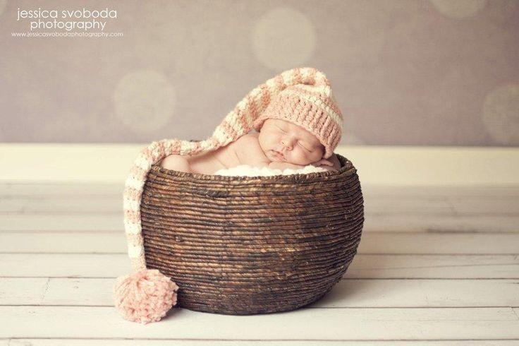 Crochet Elf Hat Free Pattern Long Tailed Baby Elf Hat Free Crochet