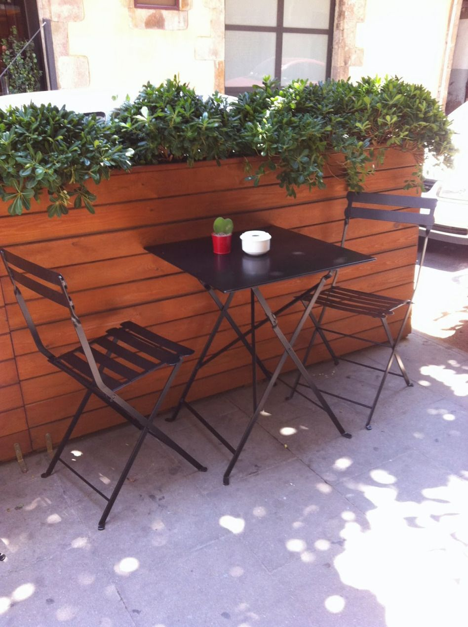 Mesas y sillas de estilo vintage retro industrial - Mesas terraza baratas ...