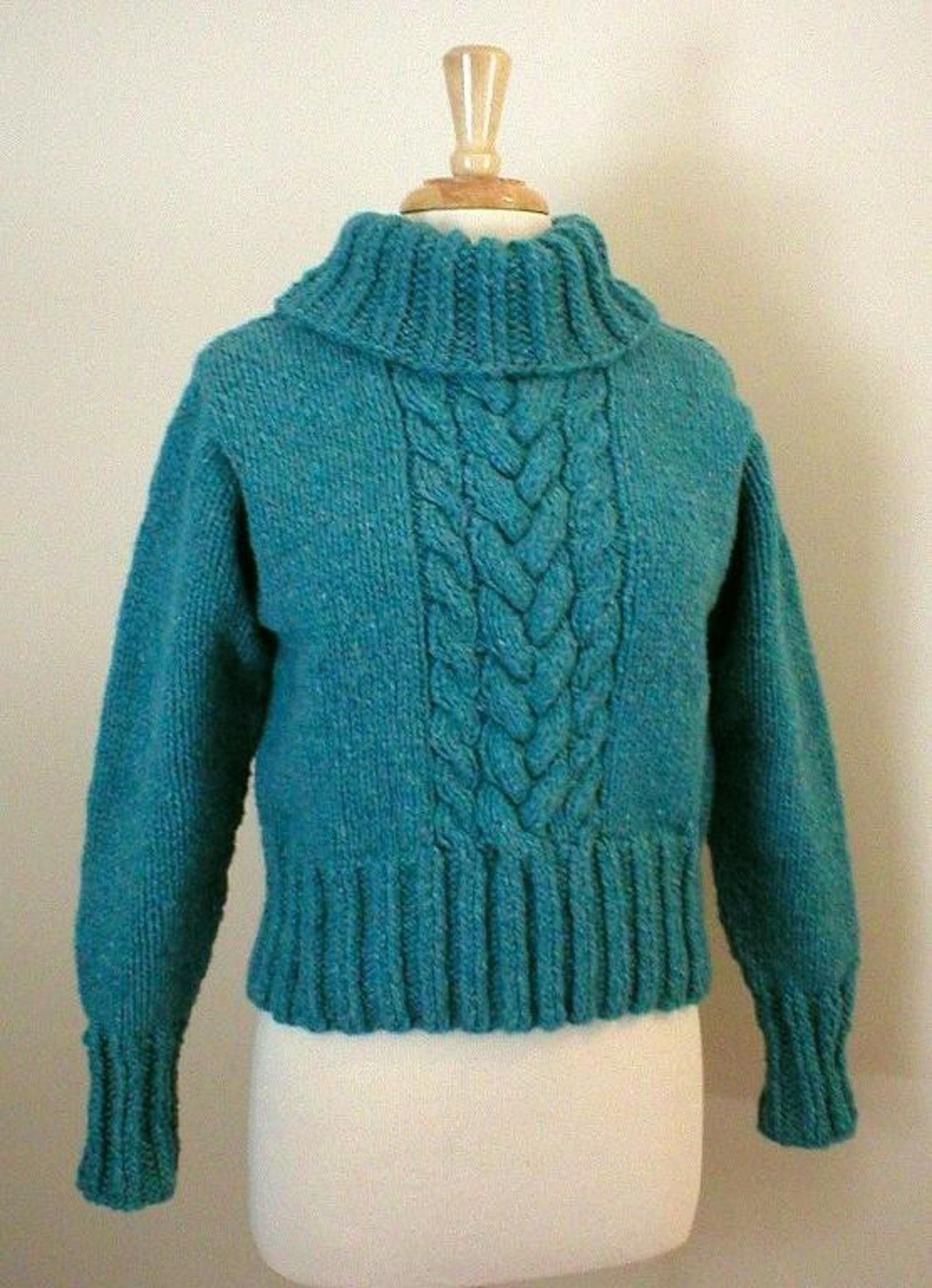 12 Trendy Cropped Sweater Knitting Patterns for Summer   Sweater ...