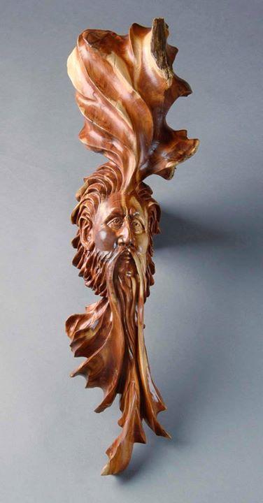 Wooden sculpture by chris howard gatlinburg tn wood