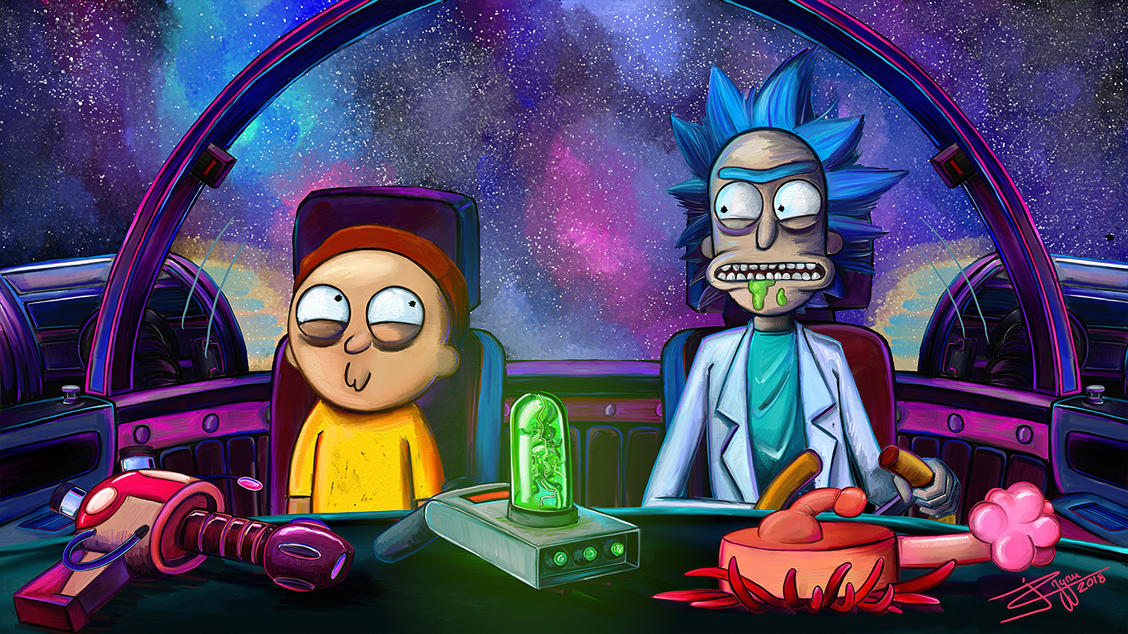 Pin By El Deadpul On Rick And Morty In 2020 Rick And Morty Poster Rick And Morty Rick And Morty Characters