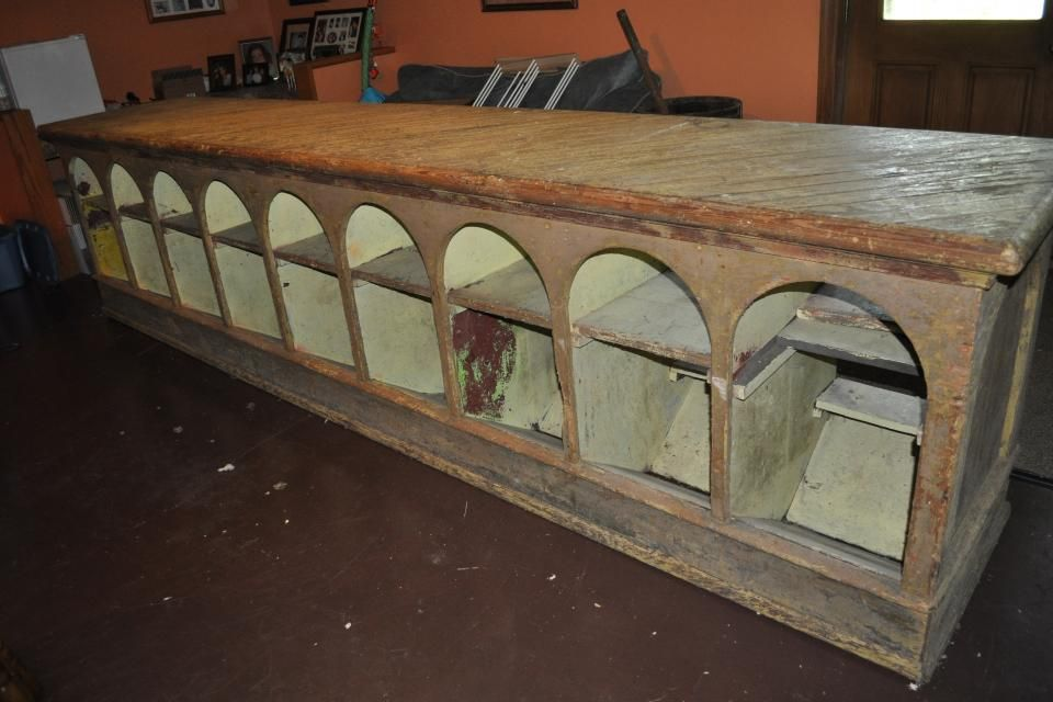 Antique General Store Counter Top From Early 1900s For The Home