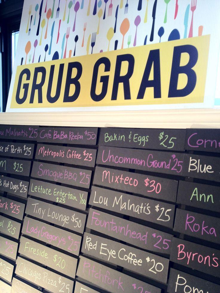 Great Display for a Grub Grab Restaurant