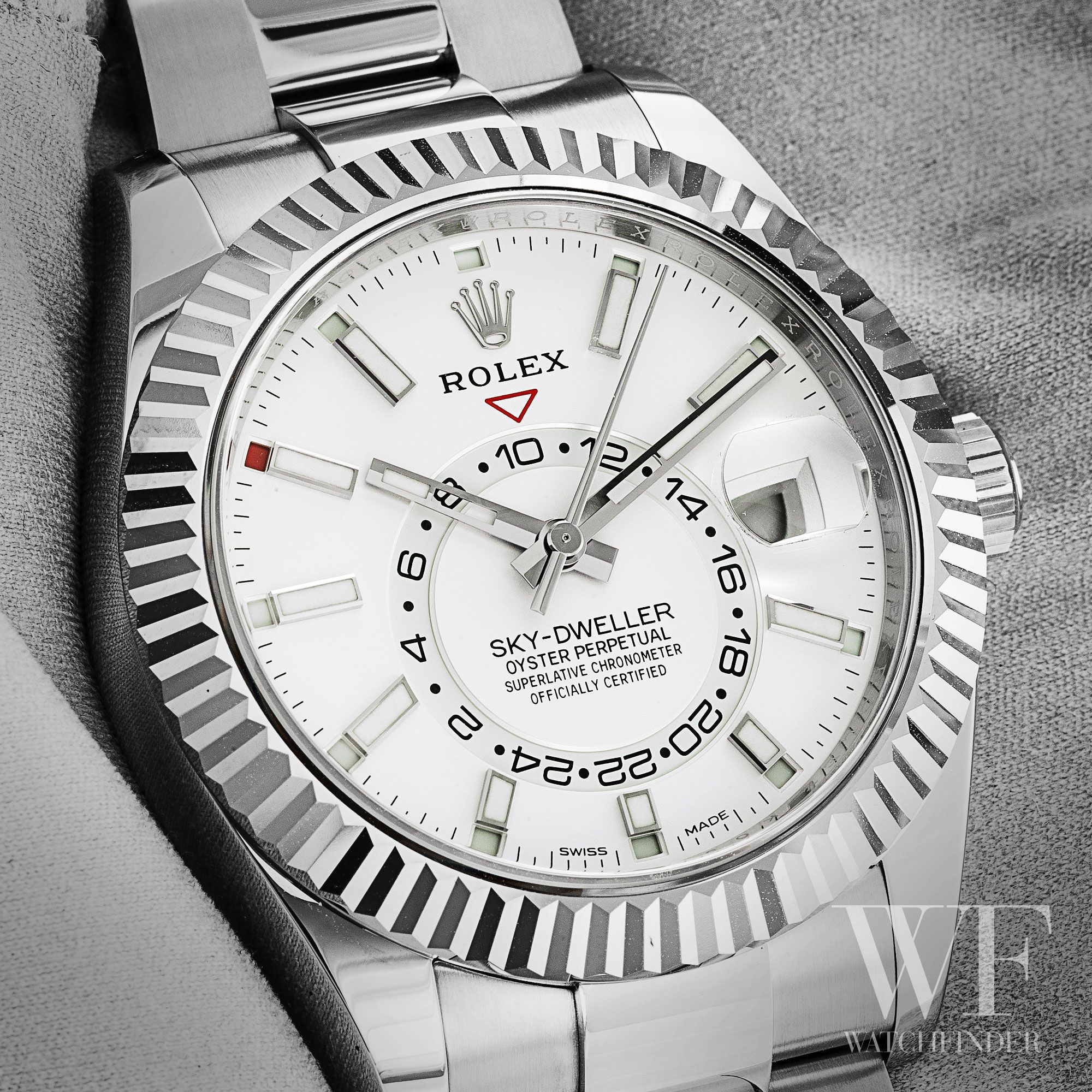 When Rolex Released The Sky Dweller In 2012 It Was A Completely New