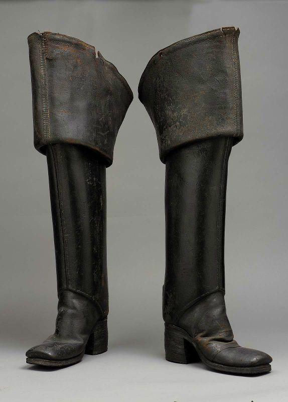 b92726ef9ae Mens boots ca. 1700-1710 via The Museum of Fine Arts