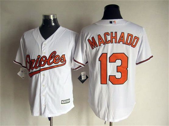 e039bd715dd ... buy baltimore orioles jersey 13 manny machado home white 2015 mlb cool base  jerseys cdfcf 87c3f ...
