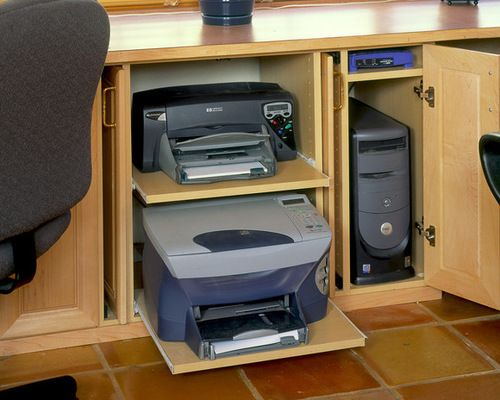 Charmant Printer Storage Ideas, Pictures, Remodel And Decor