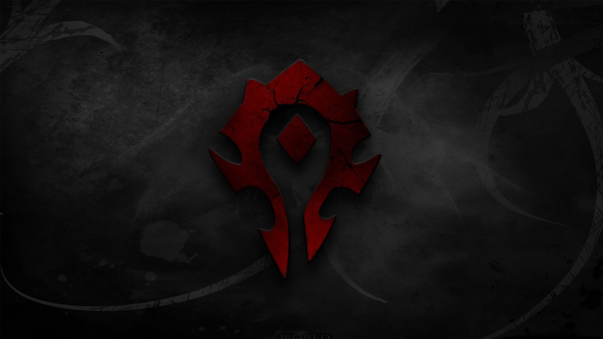 Horde Symbol Wallpaper World Of Warcraft Wallpaper World Of Warcraft Warcraft