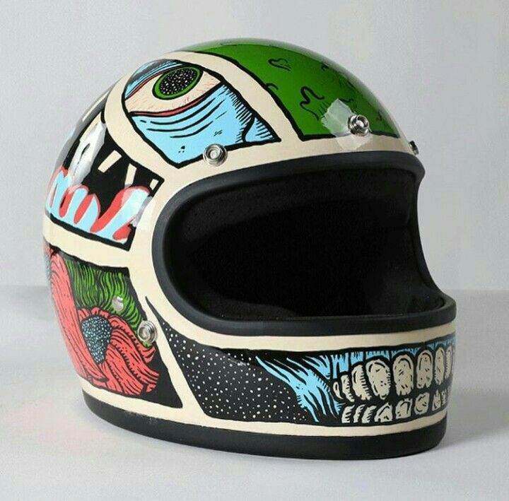 Caferacer Helmet Motorcycle Helmet Design Motorcycle Helmets Art Womens Motorcycle Helmets