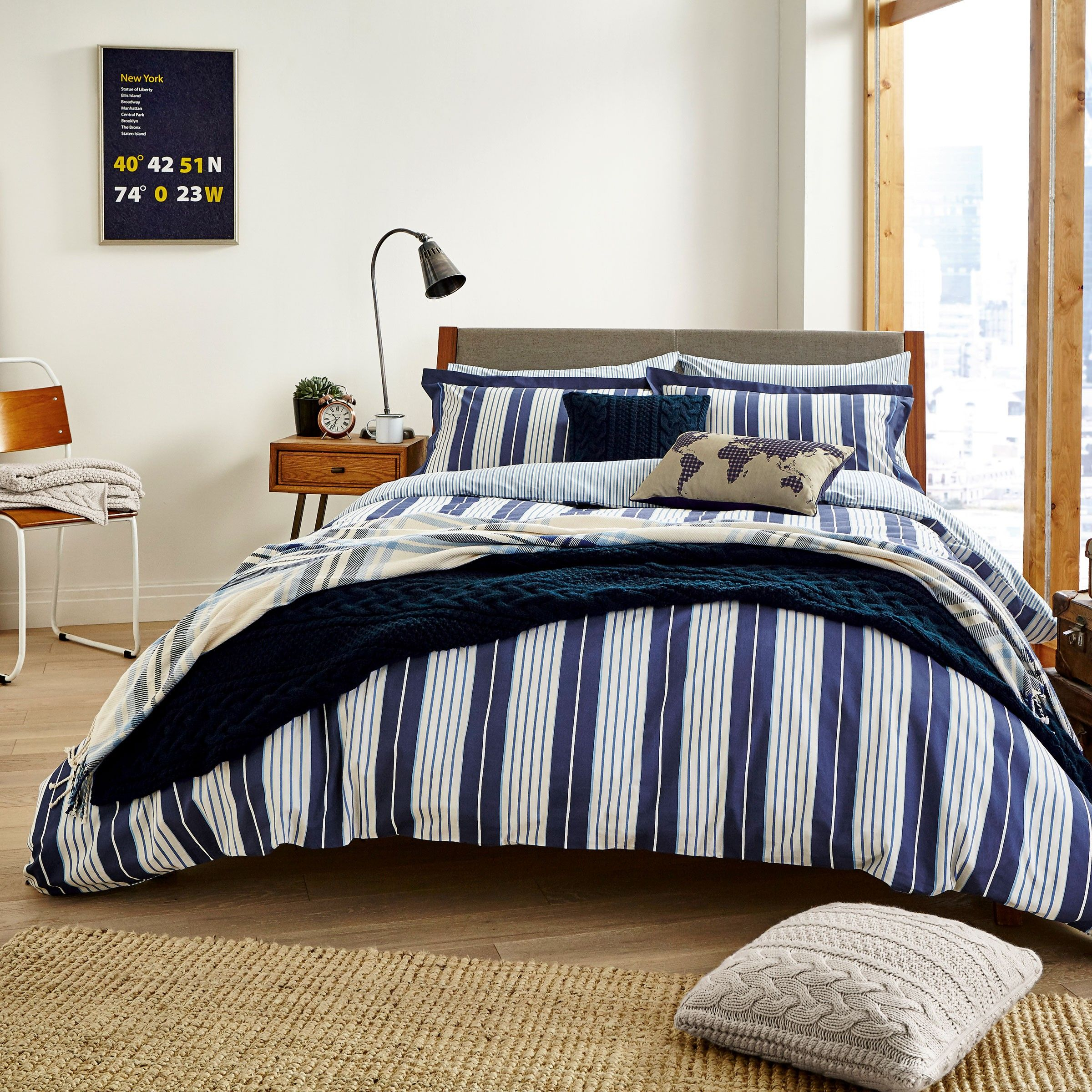 workshop navy s bed ideas bedding striped and fun white nana