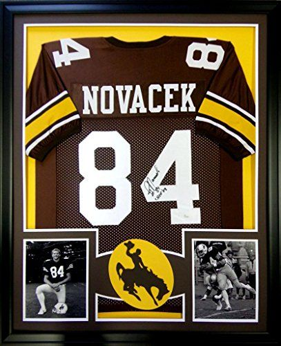 Jay Novacek Framed Jersey Signed JSA COA Autographed Wyoming Cowboys Mister Mancave http://www.amazon.com/dp/B00QKL7J7K/ref=cm_sw_r_pi_dp_euKswb0EJTD7R