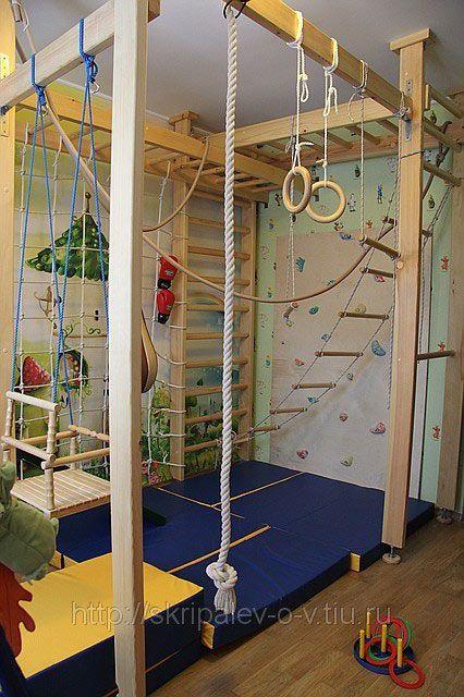 Indoor playground in 2019 - Kinderzimmer kletterturm ...