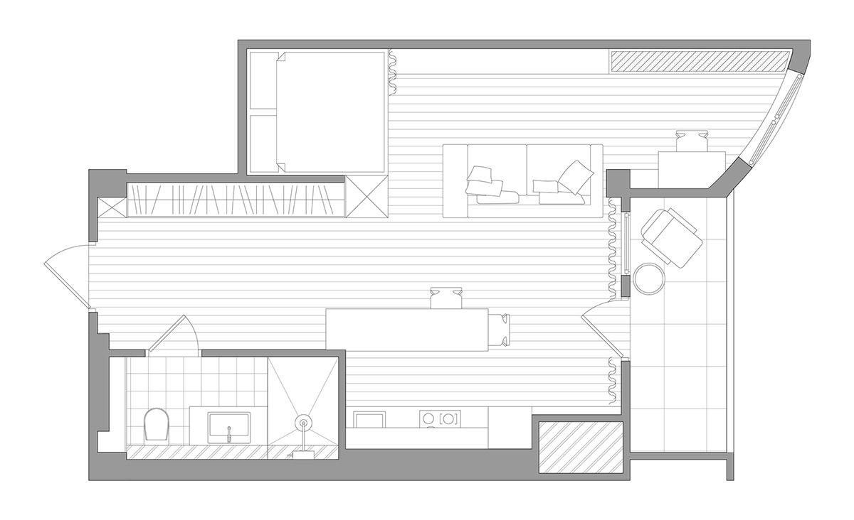 Small Home Designs Under 50 Square Meters House Design Minimalist House Design Small House Design