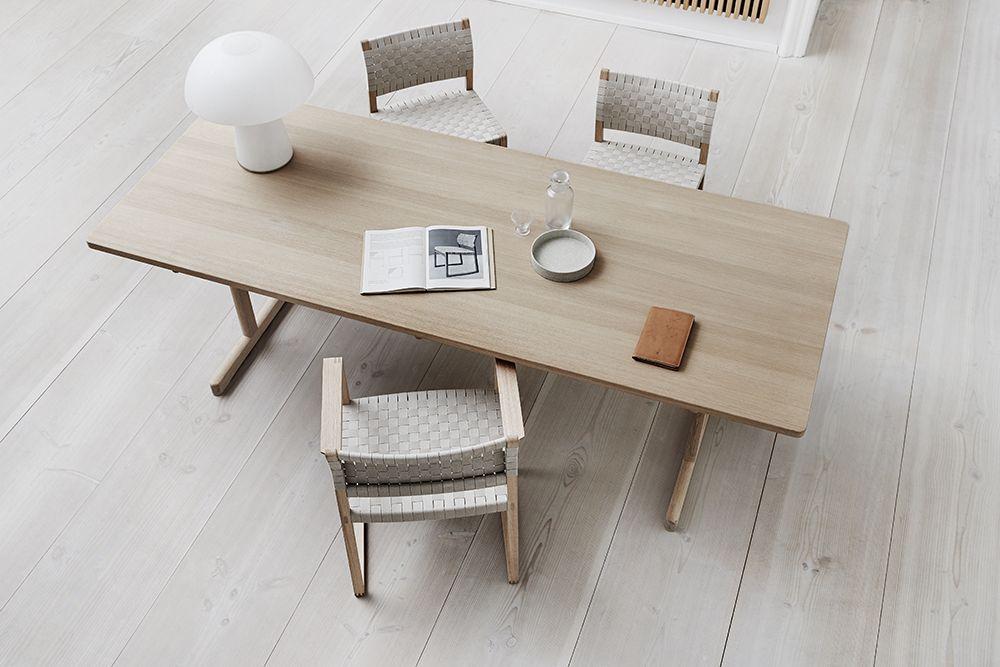 BM61 Chair & BM62 Armchair by Børge Mogensen – Fredericia - ScandinavianDesign.com
