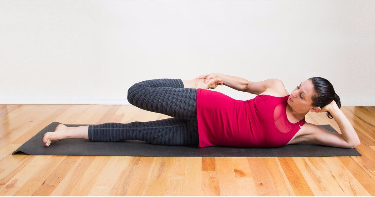 Image result for stretching exercises on bed
