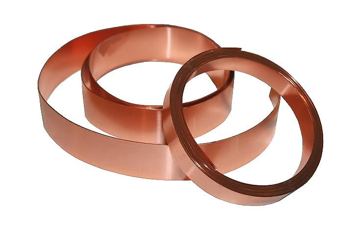 20 Mil Copper Strip 2 00 X 10 Copper Roll Copper Copper Sheets