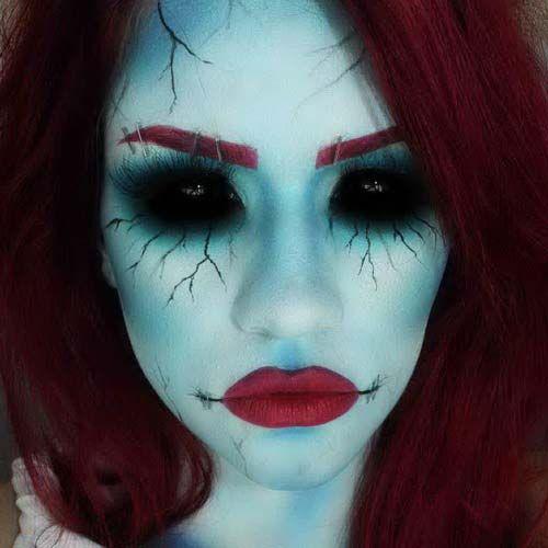 easy scary witch makeup   Halloween Makeup - Alegoo.com ...