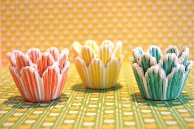 Mini Cupcake Liners 45 Pretty Pastel Tulip Baking Cups 4 25 Via Etsy With Images Mini Cupcakes Fun Cupcakes Cupcake Accessories